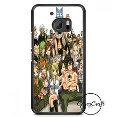 Fairy Tail Manga Collage HTC One M10 Case
