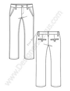 womens pleated pants fashion flat template teknical drawing pinterest pleated pants welt pocket and fashion illustrations
