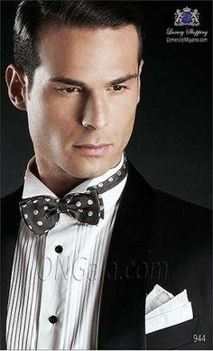 Black wedding suit 944