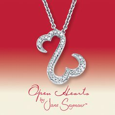 "Obsessed! Kay Jewelers Open Hearts Collection by Jane Seymour. ""If you keep your heart open, love will always find it's way in"". <3"
