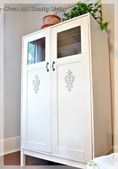 Ikea Cabinet Meets Annie Sloan - Town & Country Living