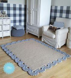 Ideas For Crochet Rug Yarn Trapillo Crochet Home Decor, Crochet Crafts, Crochet Toys, Crochet Baby, Knit Crochet, Crochet Rug Patterns, Crochet Stitches, Crochet Carpet, Rug Yarn