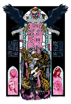 gig poster by Rhys Cooper