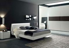 Come per ogni altro ambiente della casa, anche la camera da letto in stile moderno richiama libertà di spazio, movimento e colori decisi.