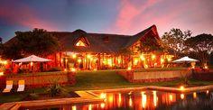 Stanley Safari Lodge, Zambia - Main House and pool