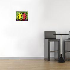 HARING - Pop Shop I 25x19 cm #artprints #interior #design #art #prints #Haring #ModernArt  Scopri Descrizione e Prezzo http://www.artopweb.com/EC15921
