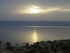 Sunset, Dead sea Jordan