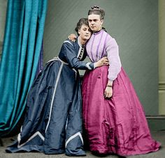 Victorian Drag - Boulton and Park as Stella and Fanny