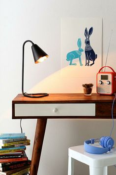 Assembly Home Paperclip Desk Lamp - Urban Outfitters Modern Office Decor, Home Office Decor, Office Desk, Home Interior Design, Interior Decorating, Urban Outfitters, Uo Home, Workspace Design, Desk Lamp