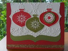 Delightful Decorations by TeaforTwo - Cards and Paper Crafts at Splitcoaststampers