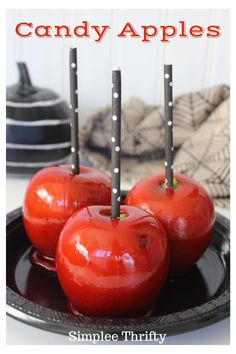 Homemade Candy Apples Recipe