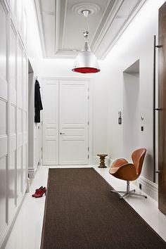 from bank to elegant high style apartment   @meccinteriors   design bites   #foyer #whiteinterior #shadesofwhite