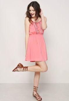 Embroidered Cami Dress | Shop Dresses at Papaya Clothing