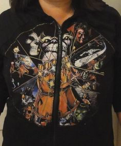DIY Marvel comics Thanos hoodie