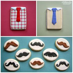 Father's Day Cookies アイシングクッキー icing cookies