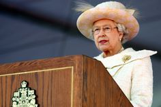 Pin for Later: The Queen's Most — and Least! — Royal Moments Through the Years Most: When She Stood at a Podium to Speak