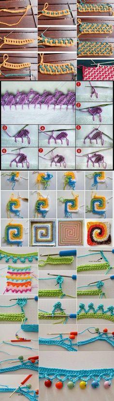 Интересные идеи вязания...♥ Deniz ♥