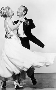 Fred Astaire And Ginger Rogers Photographed For The Barkleys Of...