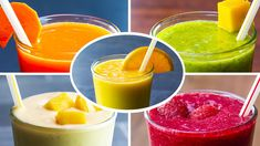 10 Healthy Smoothies For Weight Loss - YouTube Healthy Breakfast Smoothies, Good Smoothies, Smoothie Drinks, Healthy Snacks, Healthy Recipes, Breakfast Cups, Vegan Smoothies, Weight Loss Snacks, Weight Loss Smoothies