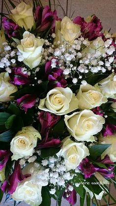 Beautiful Bouquet Of Flowers, Beautiful Flower Arrangements, Amazing Flowers, Beautiful Roses, Pretty Flowers, Floral Arrangements, Wedding Flowers, Luxury Flowers, Exotic Flowers