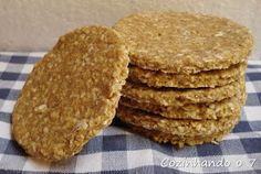 Cozinhando o 7: Biscoitos de Aveia e Gergelim