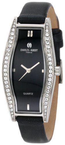 Charles-Hubert, Paris Women's 6752 Classic Collection  Watch Charles-Hubert, Paris. $64.00. Deluxe Gift Box. Japanese Quartz Movement. Black Dial. Genuine Leather Watch Band. Lifetime Movement Warranty. Save 33%!