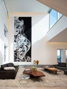 loft interieur mit schlichtem design bilder, loft interieur mit schlichtem design & energiespar-lösungen #design, Design ideen