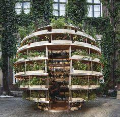 «Зелёная комната»: дизайн вертикального сада при поддержке IKEA