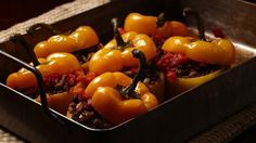 How to get stuffed peppers right — the peppers, the sauce, the filling