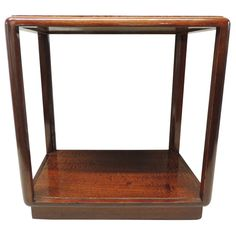 Edward Wormley Rectangular Side Table for Dunbar | From a unique collection of antique and modern coffee and cocktail tables at https://www.1stdibs.com/furniture/tables/coffee-tables-cocktail-tables/