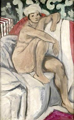 Nude on a Sofa by Henri Matisse - 1919.