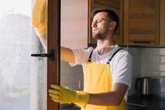 Tired Man, Window Handles, Window Cleaner, Cleaning Solutions, Free Photos, Apron, Windows, Stock Photos, Medium