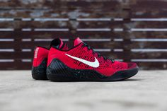 super popular de33b ea604 Image of Nike Kobe 9 Elite Low University Red Black Nike Flyknit, Nike  Running