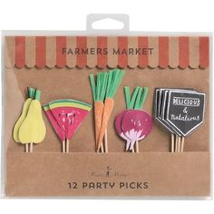 Farmer's Market Party Picks