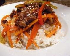 Szechuan Beef recipe -- I know my man will love this one