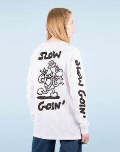 Lazy Oaf x Jiro Bevis Unisex Slow Goin Long Sleeve T-shirt