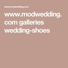 www.modwedding.com galleries wedding-shoes