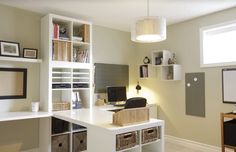 Two Person office from Ikea.
