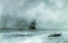 Rough sea - Ivan Aivazovsky