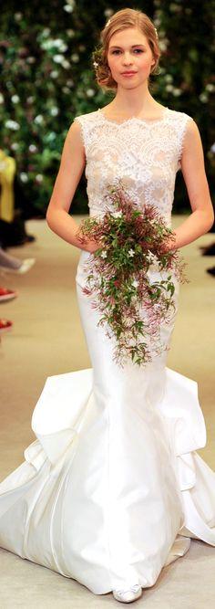 Carolina Herrera Bridal Spring 2016   justjune
