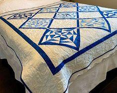 Blue white vintage platter | Etsy CA Blue And White Bedding, Platter, Master Bedroom, Blanket, Etsy, Vintage, Home, Master Suite, House