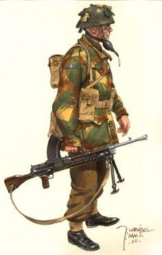 British Paratrooper - Operation Market Garden 1944, pin by Paolo Marzioli