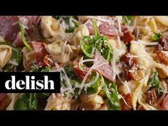Tuscan Tortellini - Tuscan Tortellini Pasta Salad