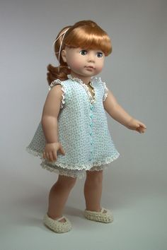 Make Baby Doll Pajamas for Your American Girl Dolls | Doll Clothes Patterns