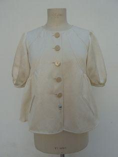 Armani Collezioni vintage 1990 giacca in seta di VintageClothingIT
