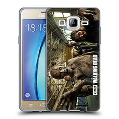 Offizielle AMC The Walking Dead Spaziergänger-Verfolgung Spaziergänger Und Persönlichkeiten Soft Gel Hülle für Samsung Galaxy On5