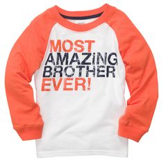 Long-Sleeve Graphic Tee | Toddler Boy New Arrivals