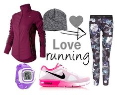 """""""Love running!"""" by my-kitsch-world ❤ liked on Polyvore featuring NIKE, adidas, New Balance and Garmin"""
