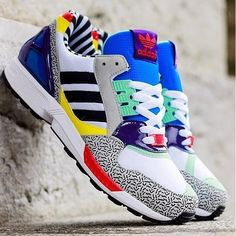 100% authentic bf65f 4b913 Adidas Originals x Memphis Group ZX 9000 Torsion Post Modern