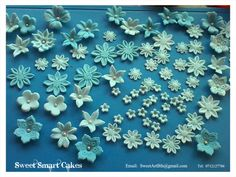Fondant Flowers, Sugar Flowers, Cupcake Toppers, Icing, Cake Decorating, Cupcakes, Fruit, Vegetables, Creative